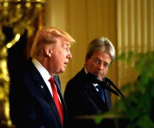 U.S. WASHINGTON D.C. PRESIDENT ITALY PM MEETING