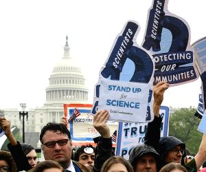 U.S.-WASHINGTON D.C.-MARCH FOR SCIENCE