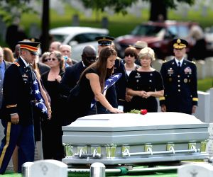 U.S. Army Maj. Gen. Harold Greene funeral