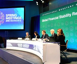 U.S.-WASHINGTON-IMF-GLOBAL FINANCIAL STABILITY REPORT