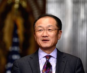 U.S.-WASHINGTON-WORLD BANK-JIM YONG KIM