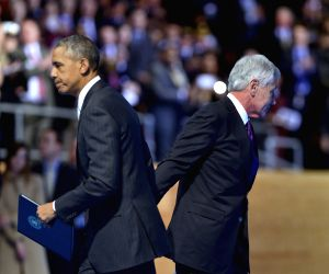 US WASHINGTON HAGEL FAREWELL
