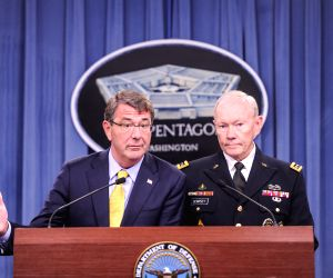U.S. WASHINGTON D.C. PENTAGON PRESS CONFERENCE