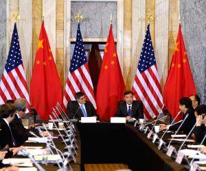 US WASHINGTON CHINA ECONOMY WANG YANG JACOB LEW
