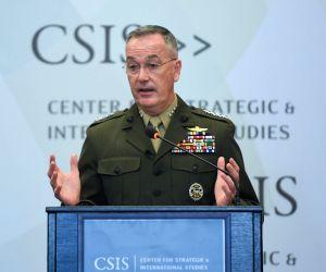 U.S. WASHINGTON D.C. CSIS DUNFORD
