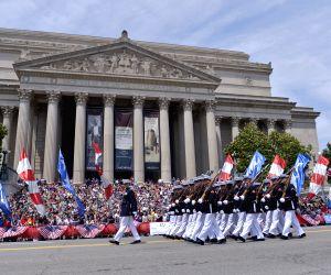 US-WASHINGTON D.C.-MEMORIAL DAY PARADE