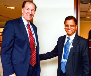 Washington DC: Subhash Chandra Garg meets David R. Malpass