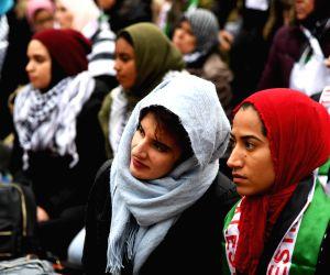 U.S. WASHINGTON D.C. PROTEST RECOGNITION JERUSALEM ISRAEL'S CAPITAL