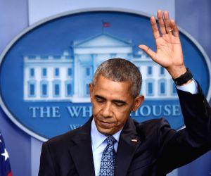 U.S.-WASHINGTON D.C.-BARACK OBAMA-FINAL PRESS CONFERENCE