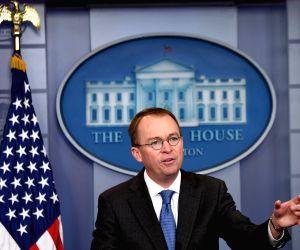 U.S. WASHINGTON D.C. GOVERNMENT SHUTDOWN PREPARATION