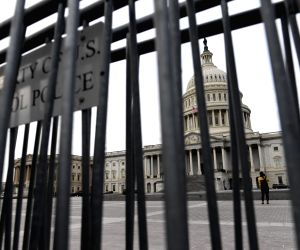 U.S. WASHINGTON D.C. GOVERNMENT SHUTDOWN ENDING
