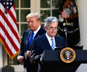 U.S. WASHINGTON JEROME POWELL FED CHAIR