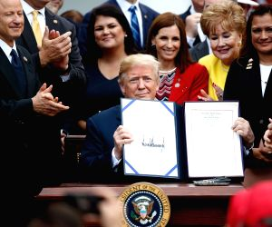 U.S. WASHINGTON D.C. TRUMP VA MISSION ACT SIGNING