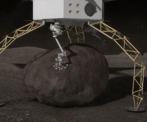 NASA-BOULDER GRABBING-ASTERIOID REDIRECT MISSION