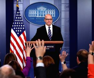 U.S. WASHINGTON D.C. NATIONAL SECURITY ADVISOR MCMASTER BRIEFING