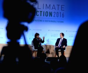 U.S.-WASHINGTON-CLIMATE ACTION 2016 SUMMIT-OPENING