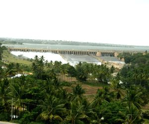 Water gets released from Krishnaraja Sagar reservoir
