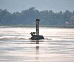 Water level in Brahmaputra river rises