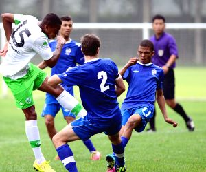VfL Wolfsburg v/s Western Cape during Weifang Cup International Youth Football Tournament