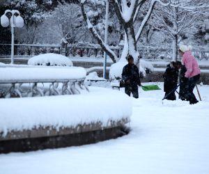 Weihai (China): China snowfall