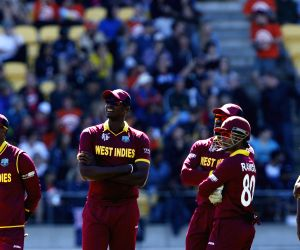 Wellington (New Zealand): ICC World Cup - 2015 - New Zealand vs West Indies (quarter-final)