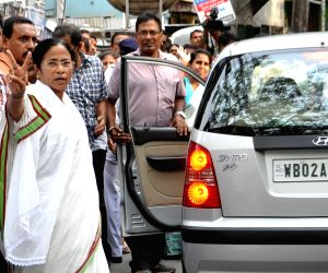 West Bengal Legislative Assembly polls - Phase 5 - Mamata Banerjee