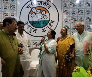 Mamata Banerjee meets newly elected party MLAs