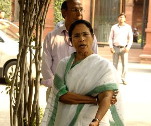Mamata Banerjee arrives to meet Modi