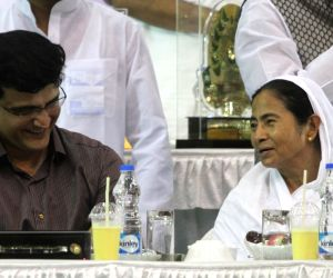 Iftaar party - Mamata Banerjee, Sourav Ganguly