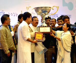 Mamata Banerjee during Kalashree Awards