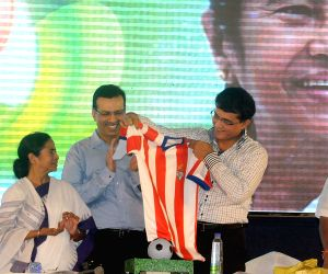 'Atletico de Kolkata'- jersey and logo unveiled