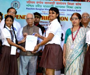 WB Governor distributes stipends to students