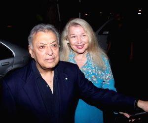 Zubin Mehta launch his book, The Score of My Life