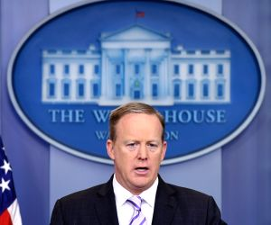File Photo: White House Press Secretary Sean Spicer