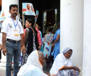 Cleanliness campaign on the eve of Gandhi Jayanti