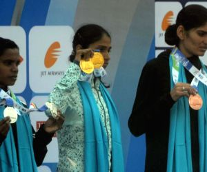 Mumbai Marathon 2018 - Indian Women's Elite winners