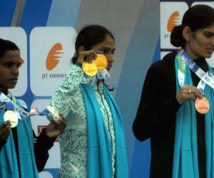 Mumbai Marathon 2018 - Indian Women's Elite winners