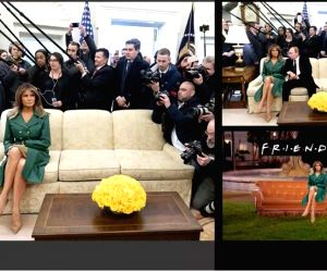 Wishing first lady Melania Trump on the occasion of her 49th birthday, the White House had on Friday shared a picture her on Twitter. ???Happy Birthday, @FLOTUS!??? the post was captioned along with ...