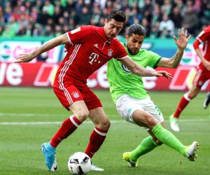 GERMANY WOLFSBURG SOCCER BUNDESLIGA WOB VS FCB
