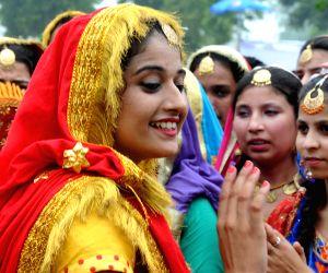 Teej festival celebration