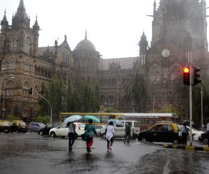 Rains in Mumbai