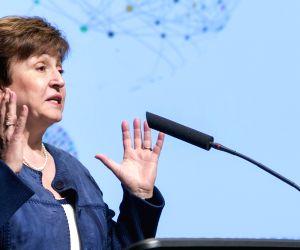 :World Bank CEO Kristalina Georgieva. .