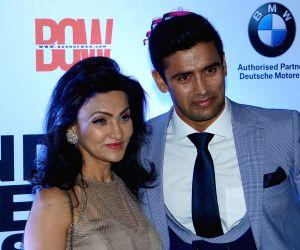 """Sangram Singh, Vandy Mehra at """"India Men Show"""