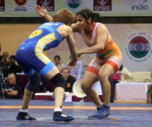 Asian Wrestling Championship - Sarita Vs Aisuluu Tynybekova