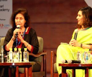 Nayantara Sahgal at Times Litfest Delhi