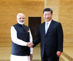 CHINA WUHAN XI JINPING INDIA MODI INFORMAL MEETING