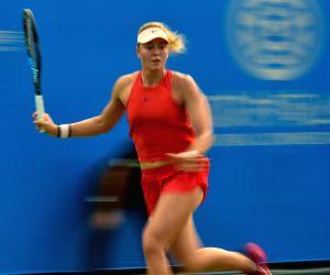 CHINA-WUHAN-TENNIS-WTA-WUHAN OPEN