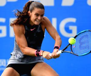 CHINA-WUHAN-TENNIS-WTA-WUHAN OPEN-DAY 2