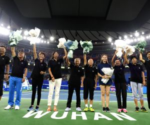 CHINA WUHAN TENNIS WTA WUHAN OPEN OPENING CEREMONY