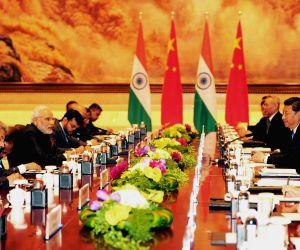 Xi'an (China): PM Modi meets Xi Jinping
